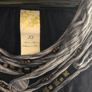 Detailed tank top from Anthropologie